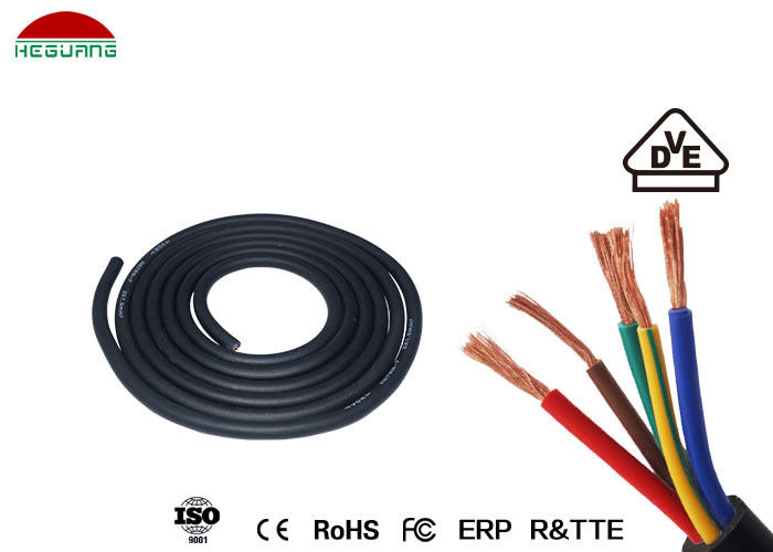 Swimming Pool Light Assembly 5×0.5mm² IP68 Waterproof Five Core Rubber Cable