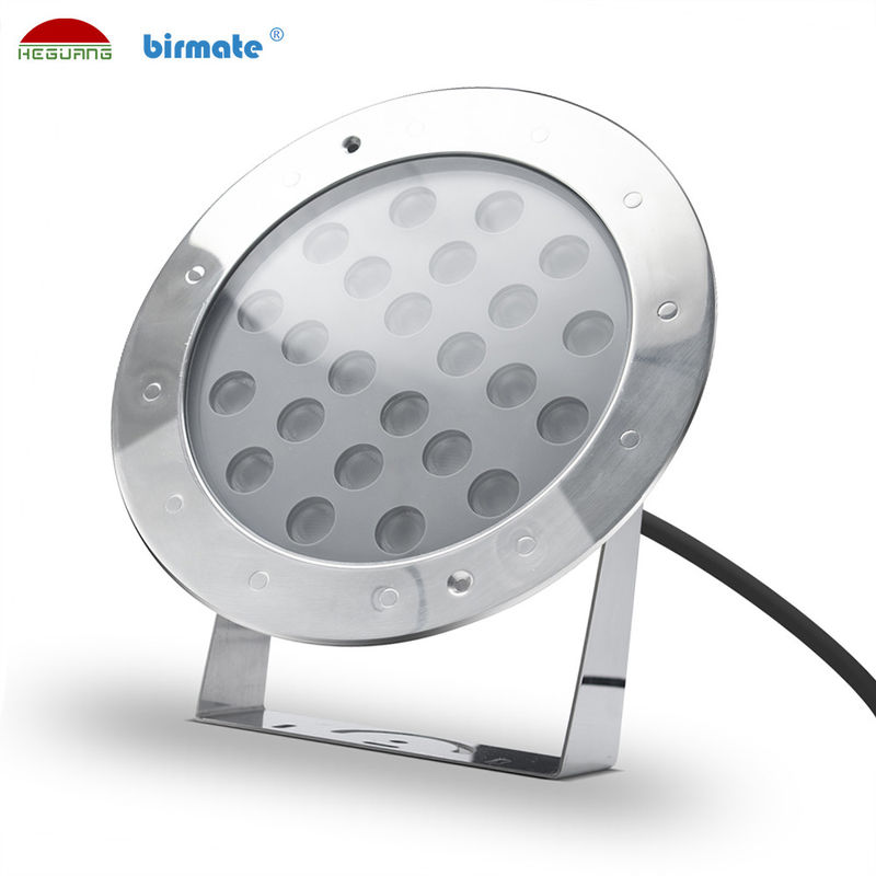 6500K Dimmable Led Swimming Pool Light IP68 SS316L Material 36W White Color